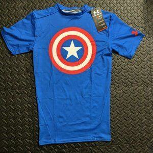 Under Armour Captain America Compression Shirt M